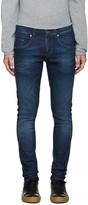 Tiger of Sweden Blue Skinny Jeans