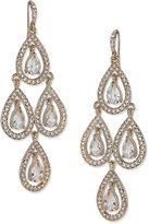 Carolee Earrings, Pave Chandelier Earrings