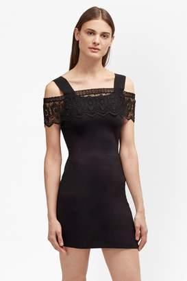 French Connection Petra Lace Beau Cold Shoulder Dress
