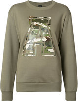Alexandre Vauthier 'A' sweatshirt - women - Cotton - 1