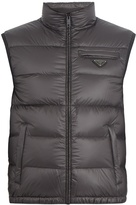 Prada High-neck quilted down gilet