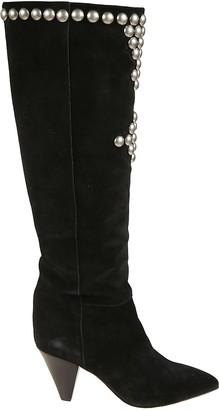 Isabel Marant Velvet Studded Boots