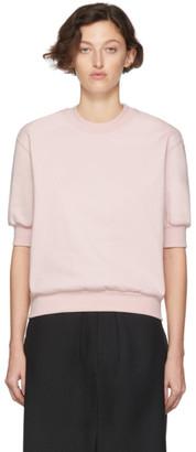 Random Identities Pink Side Zipped Sweatshirt