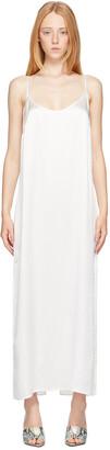 La Perla White Silk Slip Dress