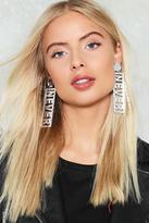 Nasty Gal Never Have I Ever Earrings