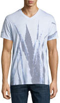 Sol Angeles Agave Leaves Printed V-Neck T-Shirt