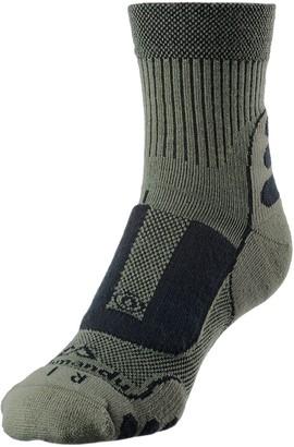 Kathmandu NuYarn Ergonomic Quarter Crew Hiking Socks