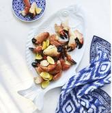 Williams-Sonoma Williams Sonoma AERIN White Fish Platter