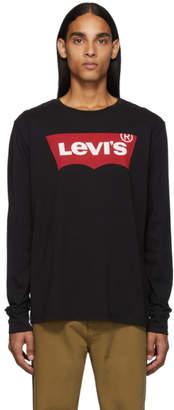 Levi's Levis Black Classic Long Sleeve T-Shirt