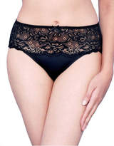 Jones New York Lace Front Panel Hi Cut Brief