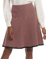 Trina Turk Haute Havana A-Line Flavia Skirt