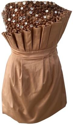 Sass & Bide Gold Cotton Dresses