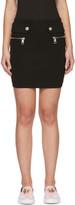 Versus Black Lion Tab Miniskirt