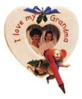 Hallmark For My Grandma Photo Holder 1999 Ornament QX6747