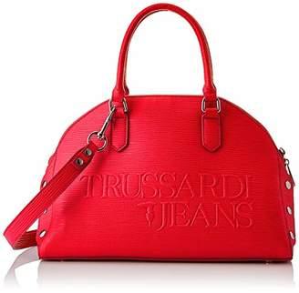 Trussardi Jeans Women's 75B00675-9Y099999 Top-Handle Bag Red