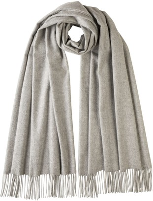 Johnstons of Elgin Silver Classic Cashmere Stole