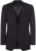Aquascutum Pick And Pick Wool Suit Jacket