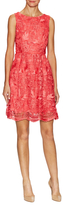 Adrianna Papell Floral Lace Sleeveless Dress