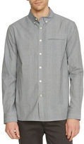 Kenneth Cole New York Plaid Button-Front Slim-Fit Shirt