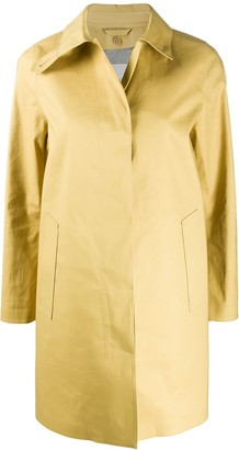 MACKINTOSH Dunoon single-breasted coat