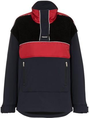 Ambush Fleece wool-blend windbreaker jacket