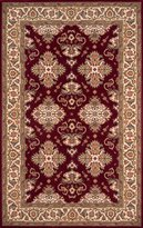 Momeni Rugs PERGAPG-01BUR80A0 Persian Garden Collection, 100% New Zealand Wool Traditional Area Rug