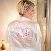 The Little Lovebird Heart Vine Bride Dressing Gown Robe