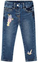MonnaLisa Floral Embroidered Jeans