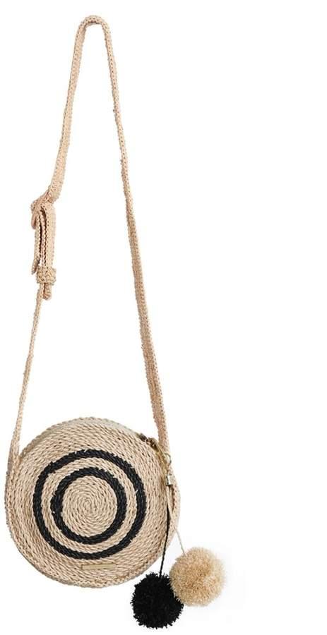 Zimmermann Raffia Circular Shoulder Bag