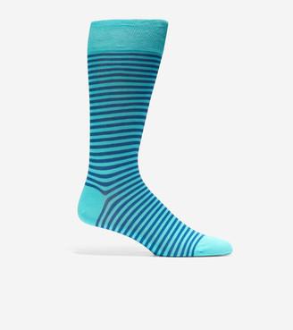 Cole Haan Simple Stripe Crew Socks