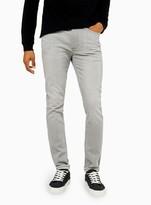 TopmanTopman Light Grey Stretch Skinny Jeans