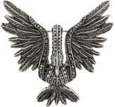 Lanvin embellished bird brooch