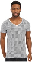 Scotch & Soda Oil Washed Short Sleeve Tee with Chest Pocket