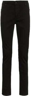 Ksubi van winkle black rebel skinny jeans