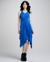 Cut25 Handkerchief-Hem Jersey Dress