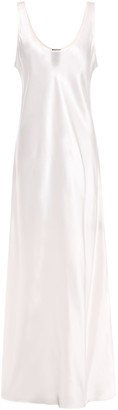 Michael Lo Sordo Silk-satin Midi Slip Dress