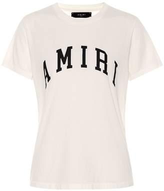 Amiri College cotton-jersey T-shirt
