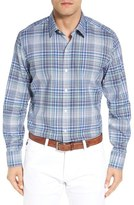 BOSS 'Robbie' Slim Fit Plaid Sport Shirt