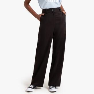 "Wide Leg Trousers, Length 30"""