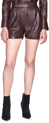 Equipment Breeta Leather Shorts