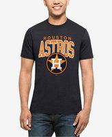 '47 Men's Houston Astros Splitter Blockhouse T-Shirt