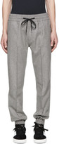 Marc Jacobs Grey Wool Drawstring Trousers