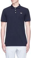 MAISON KITSUNÉ Fox logo appliqué polo shirt