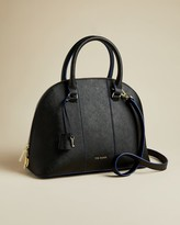 Ted Baker Leather Dome Cross Body Bag