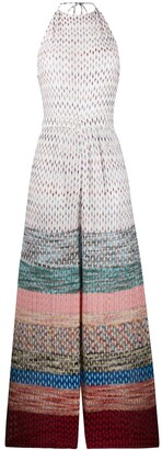 Missoni Mare Crocheted Geometric-Print Jumpsuit