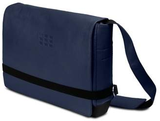 Moleskine Leather Slim Messenger Bag