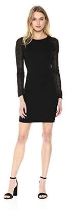 French Connection Women's THIESTIS Dress, Black, (Size:--)