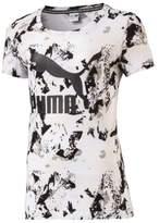 Puma Girl's Classic Logo T-Shirt