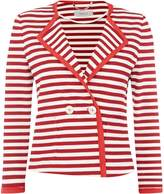 Marella ESTE Longsleeve cropped striped jacket