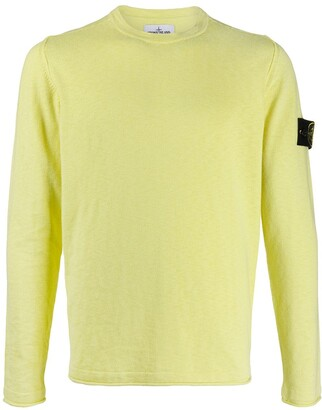 Stone Island Knitted Logo Jumper